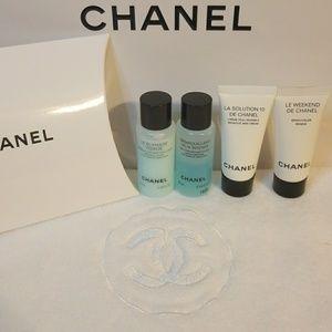 Chanel weekend travel set